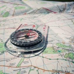 کتاب نقشه خوانی و آشنایی با نقشه ها