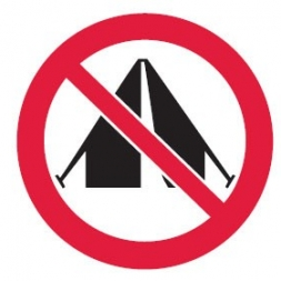 در چه مکان هایی نباید کمپ و چادر زد؟